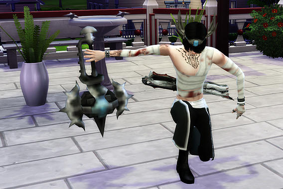 Studio K Creation Age Of Darkness Weapons Sims 4