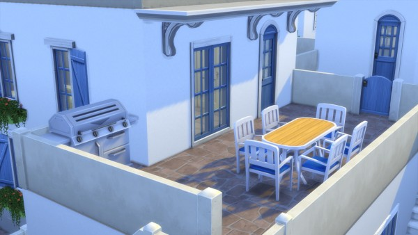 Totally Sims: Greek Dream house