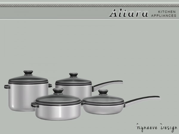 The Sims Resource: Altara Kitchen Appliances by NynaeveDesign