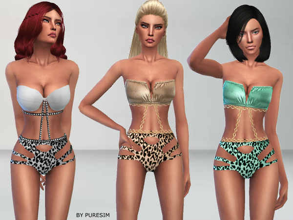 Sims 4 Female Swimwear - 'sexy'