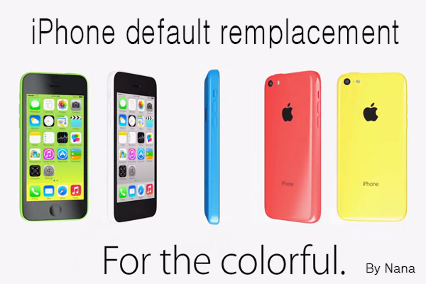 Nolween: Functional phone default remplacement   By Nana