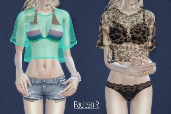 Paluean R Sims: Tranceparent Shirt