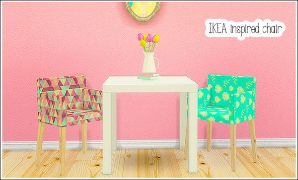 Linacherie Ohbehave S Ikea Inspired Chair Sims 4 Downloads