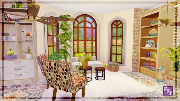 The Stories Sims Tell: Modern Spectrum   Brown Sunroom