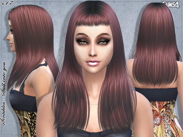 The Sims Resource: Sintiklia   Hair s17 Still into you