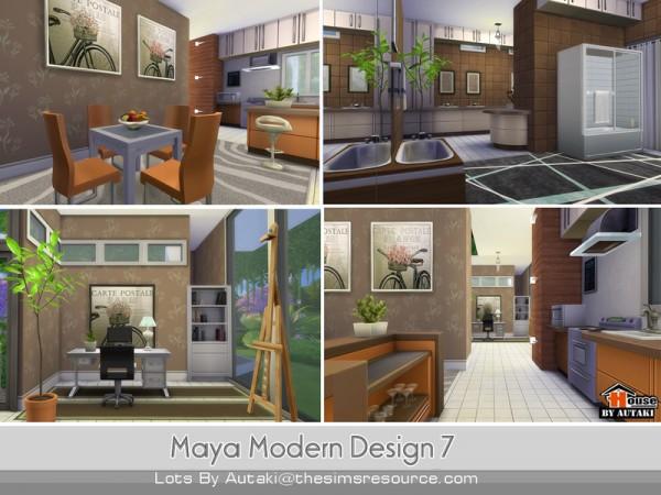 The Sims Resource: Maya Modern Design 7 by Autaki
