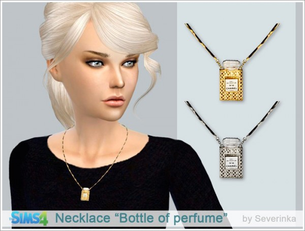 Sims by Severinka: Necklace Bottle of perfume