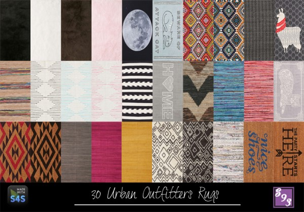 The Stories Sims Tell: 50 2x1 Rugs