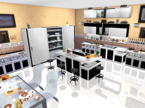 mod the sims modern kitchen by sim4fun sims 4 downloads kitchen amp dining room furniture ashley furniture homestore