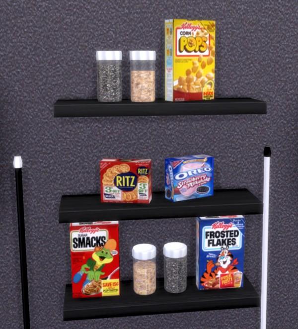 PQSims4: Clutter Eva Kitchen