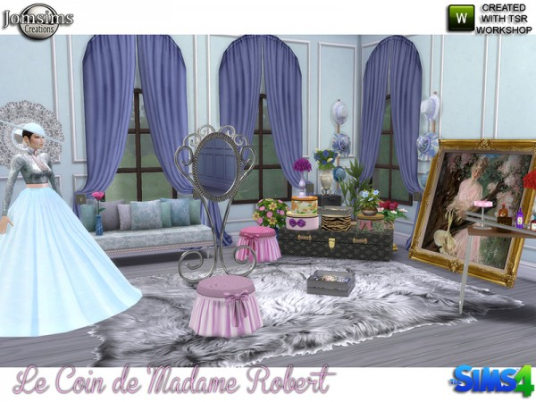 The Sims Resource: Madame robert corner by jomsims