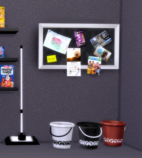 Pqsims4 Clutter Eva Kitchen Sims 4 Downloads