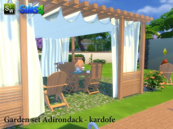 sims 4 gazebo. the sims resource garden set adirondack by kardofe 4 gazebo