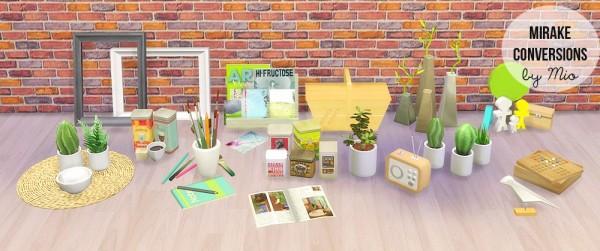 Mio Sims: Mangosims conversions
