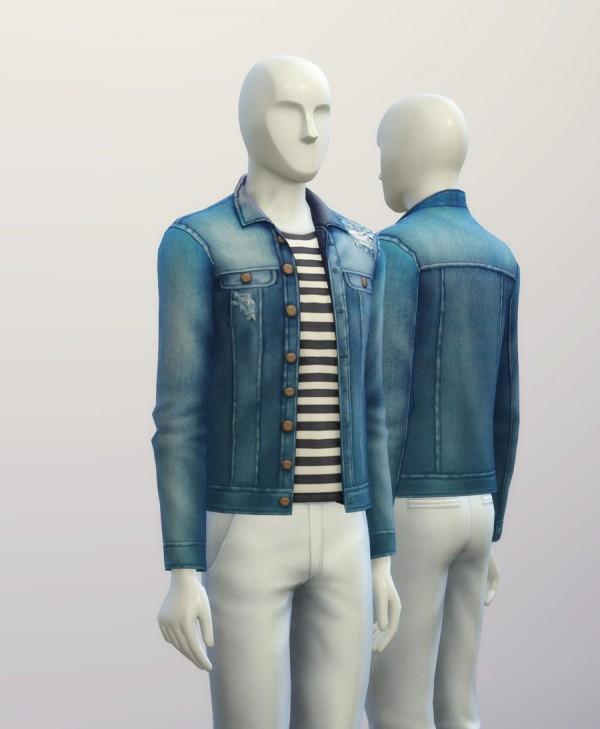 Rusty Nail Denim Jacket Sims 4 Downloads
