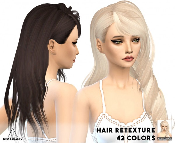 Miss Paraply: Skysims solid hairstyles retextured