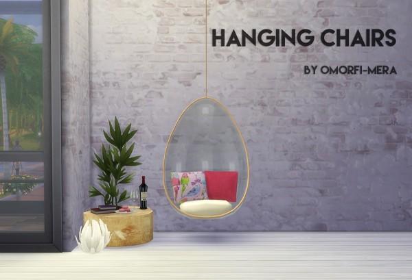 Omorfi Mera: Hanging Chairs