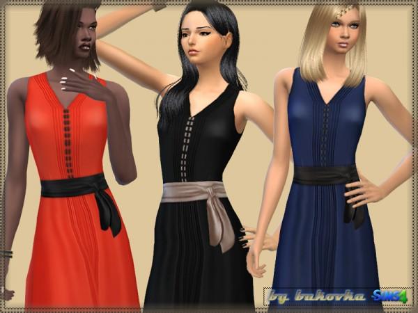 The Sims Resource: Dress Satin Belt by Bukovka