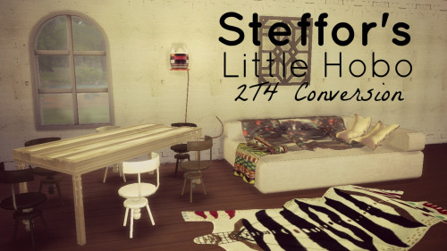 Lindseyx sims: Steffor's Little Hobo Conversion