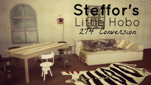 Lindseyx sims: Steffor's Little Hobo Conversion