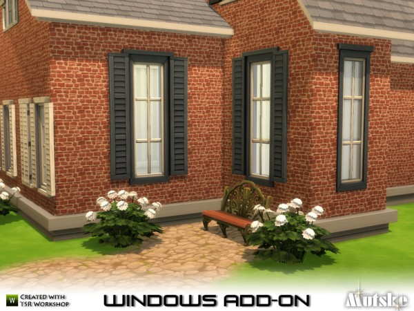 The Sims Resource: Window Add on by Mutske