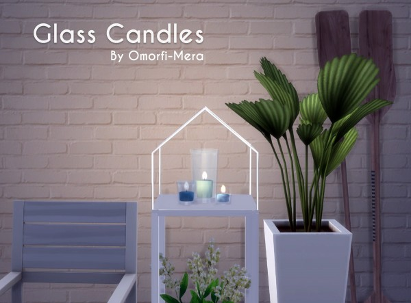 Omorfi Mera: Glass Candles