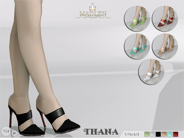 The Sims Resource: Madlen Thana Shoes by MJ95