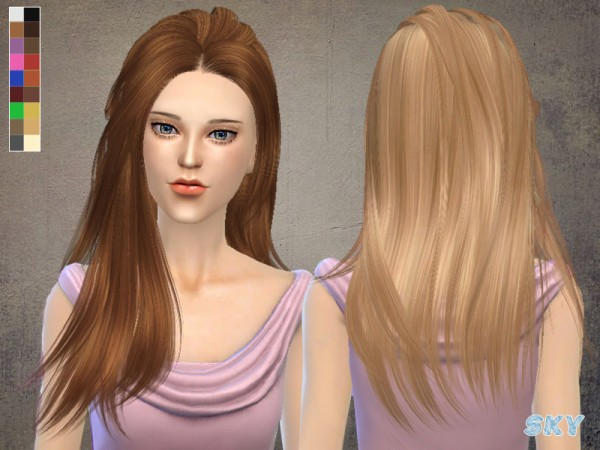 The Sims Resource: Skysims Hairstyle mm215