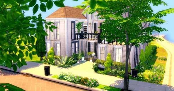 Sims4Luxury: French house