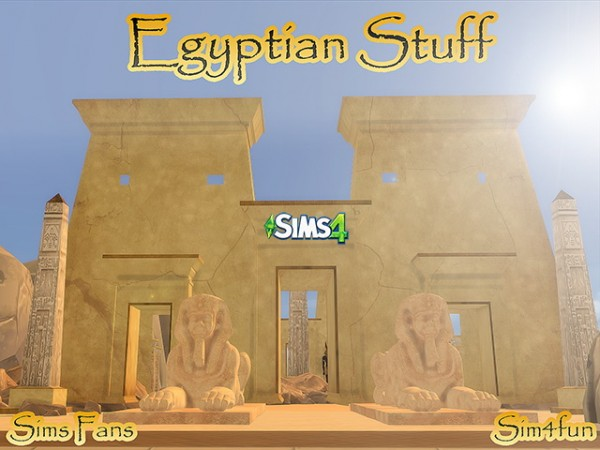Sims Fans Egyptian Stuff By Sim4fun Sims 4 Downloads