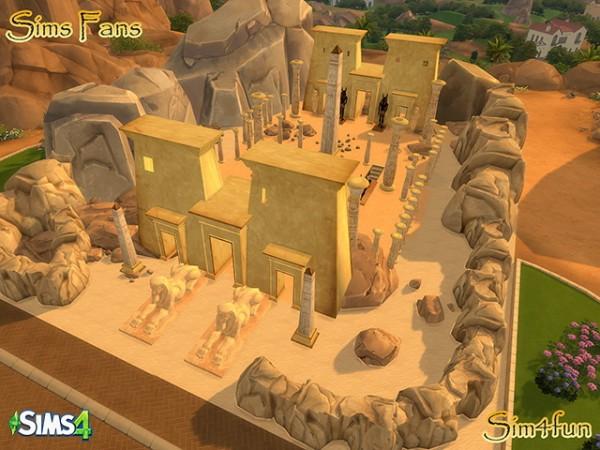 sims fans egyptian stuff by sim4fun sims 4 downloads