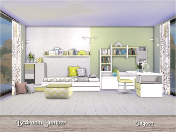 The Sims Resource: Bedroom Juniper by ung999