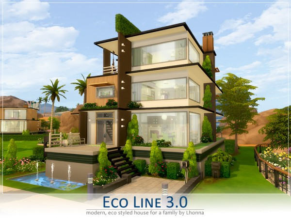 The sims resource eco line 3 0 by lhonna sims 4 downloads - The sims 3 case moderne ...