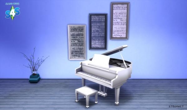 27Sonia27: Sheet Music