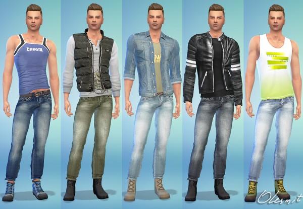 OleSims: Diesel male jeans