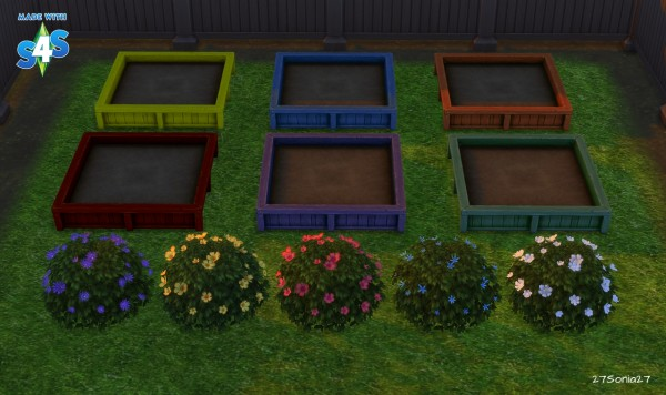 27Sonia27: Flowering Shrubs & Garden Boxes