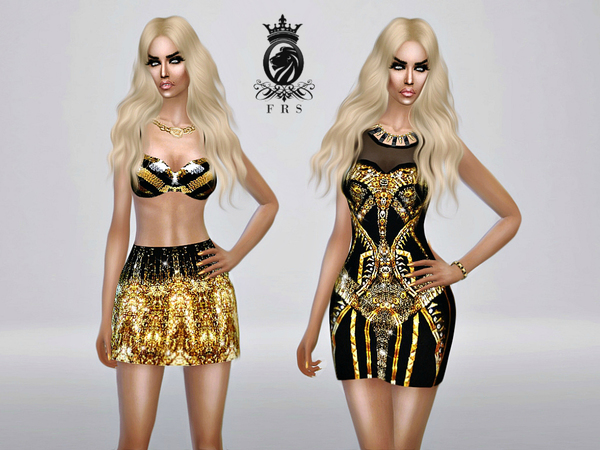 The Sims Resource: Golden Collection by FashionRoyaltySims