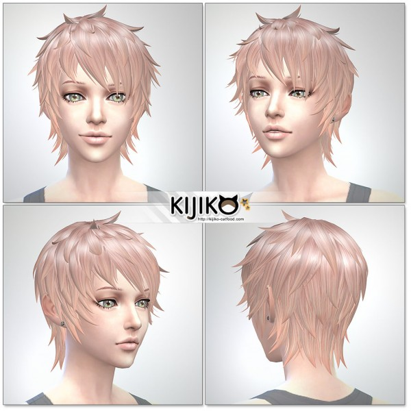 Kijiko: Shaggy Short hairstyle for her