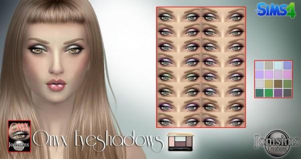 Jom Sims Creations: Onyx Eyeshadow