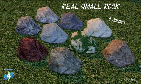 27Sonia27: Real Small Rock