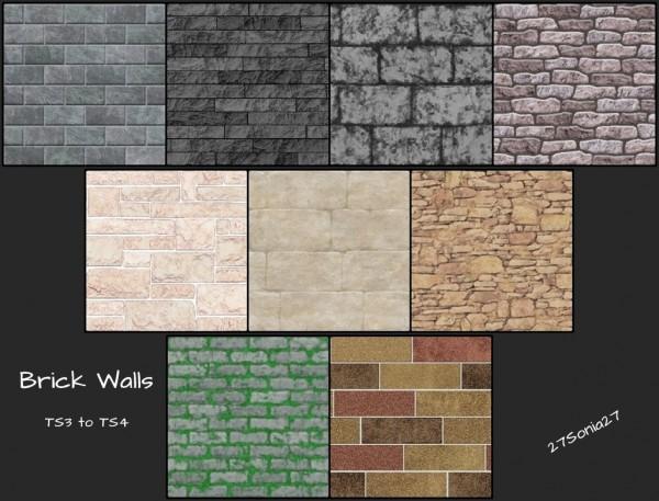 27Sonia27: Brick Walls