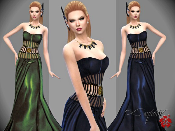 The Sims Resource: Corset V Gown by EsyraM