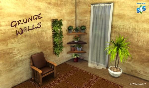 27Sonia27: Grunge Walls