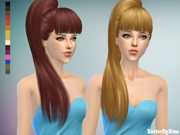 Butterflysims: B flysims hair 138 No hat