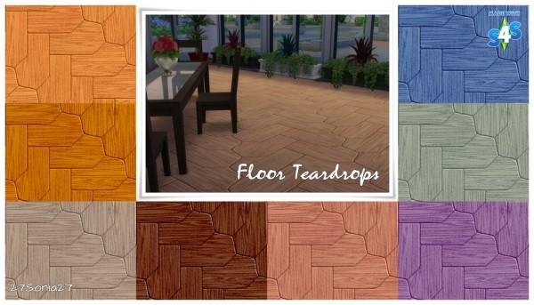 27Sonia27: Floor Teardrops