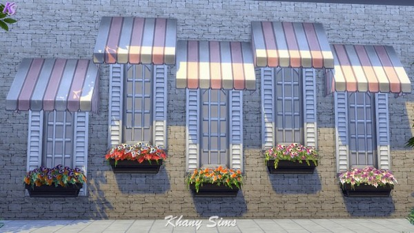 Khany Sims: Flower boxes by  Khany