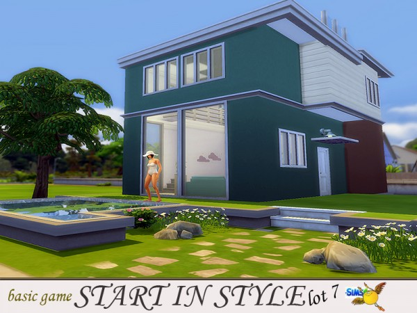 The Sims Resource: Start in Style lot 7 by Evi