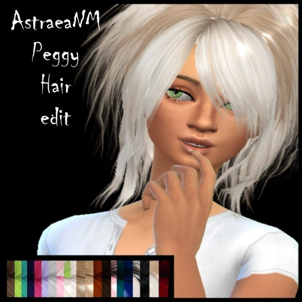 The Path Of Nevermore: AstraeaNM and Newsea`s hairstyles retextured