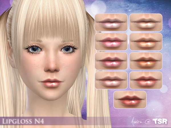 The Sims Resource: Lipgloss N4 by Aveira