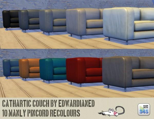 Loveratsims4: Cathari couch